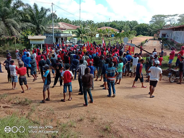 Solidarity Report: Plantation workers on strike! Demanding rights at workplace