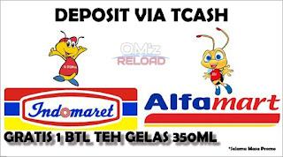 Deposit Indomaret dan Alfamart