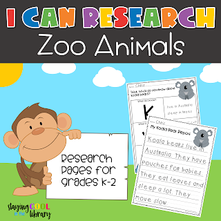 I Can Research Zoo Animals
