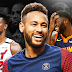 Neymar yang diprotes karena Draymond Green dan Jimmy Butler