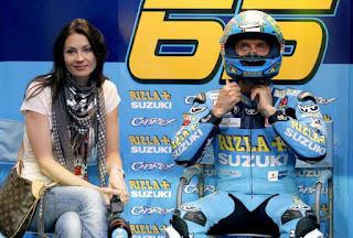 Loris Capirossi's Wife Ingrid Tence