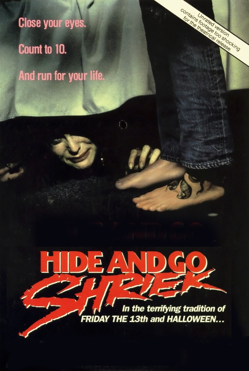 Hide and go Shriek [1987] [DVDR] [NTSC] [Subtitulado]