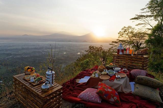 Spot Wisata Sunrise Terbaik Di Magelang -  Sunrise di Mata Langit