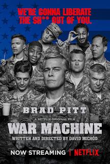 War Machine 2017 Hindi Dual Audio 170Mb hevc WEBRip