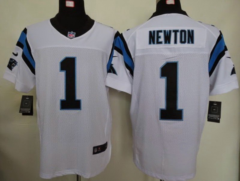 c19985c35 ... 2014 New NFL jerseys on September Nike Carolina Panthers 1 Cam Newton  White Super Bowl 50 Collection Mens Stitched NFL Elite . ...