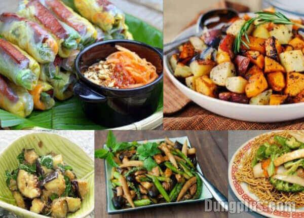 Sách dạy làm 500 món ăn chay  - nhìn hấp dẫn mà cực dễ làm