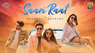 Saari Raat Song Lyrics in Hindi Bharath Saurabhs