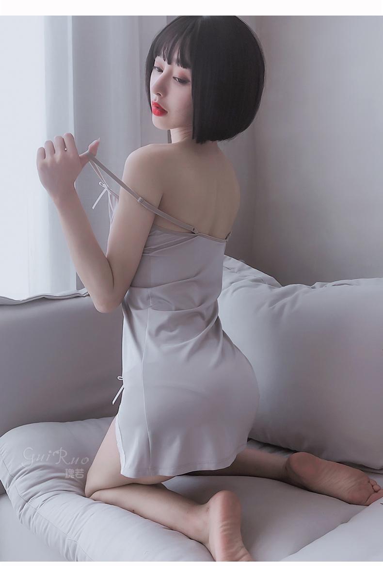 Váy thun ôm gợi cảm không xuyên thấu 4
