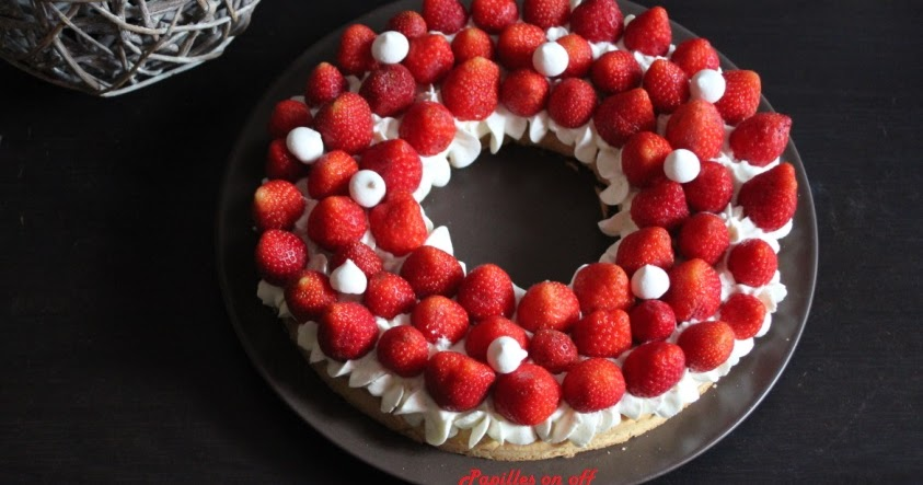papilles on off tarte aux fraises et la cr me au mascarpone vanill e au thermomix ou sans. Black Bedroom Furniture Sets. Home Design Ideas