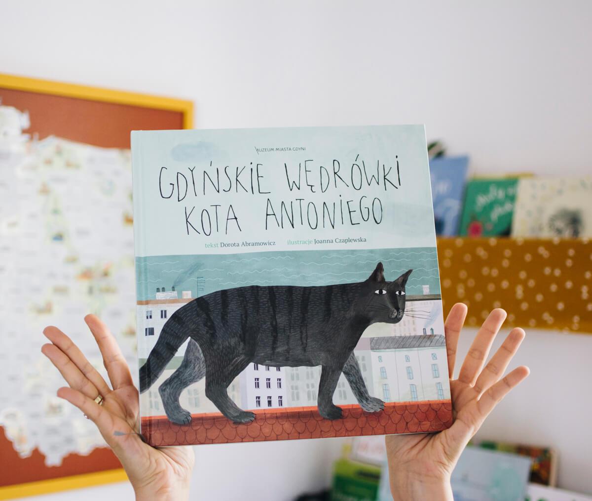 Gdyńskie wędrówki kota Antoniego