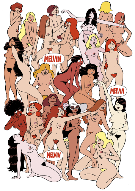 shoo bop drawing illustration comic sexy girls Artur Laperla Melvin