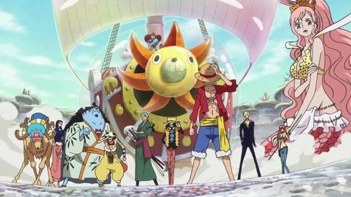 Daftar Episode One Piece Arc Fish-Man Island