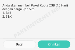Promo Paket Internet Telkomsel Murah 2GB 15000 Sebulan