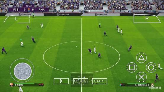 PES 2021 PPSSPP Gameplay