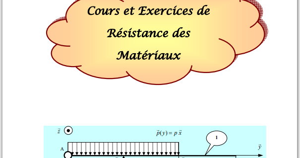 Cours et Exercices de Résistance des Matériaux pdf