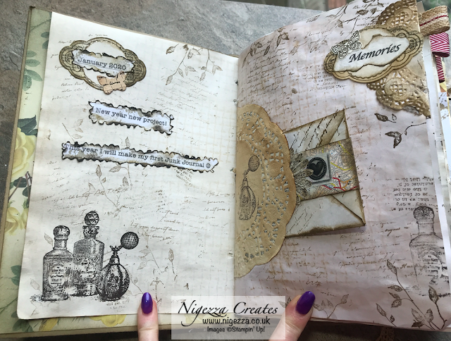 Adding Photos & Journalling To My Junk Journal