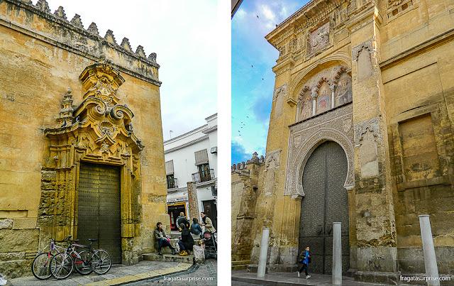Muralhas e portais de acesso à Mesquita de Córdoba