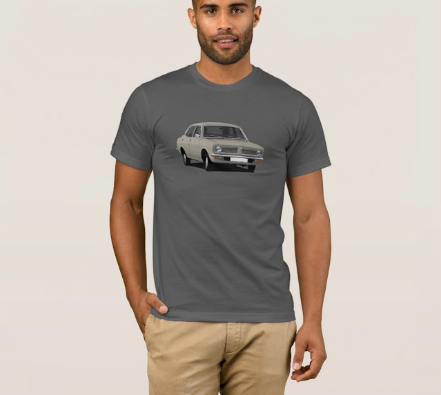 Beige Morris Marina without text t-shirt