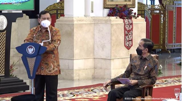 Prabowo: Keputusan Presiden Jokowi Tidak <i>Lockdown</i> Keras Menyelamatkan Kita