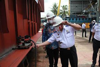 Hubdat Bangun Kapal Ro-Ro Untuk Lintas Sri Menanti – Karang Baru