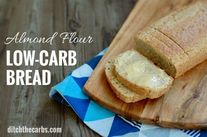 Low Carb Bread Almondflourlowcarbbread