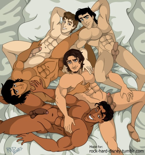 Trang 1 - Hoàng Tử Disney #1 () - Truyện tranh Gay - Server HostedOnGoogleServerStaging