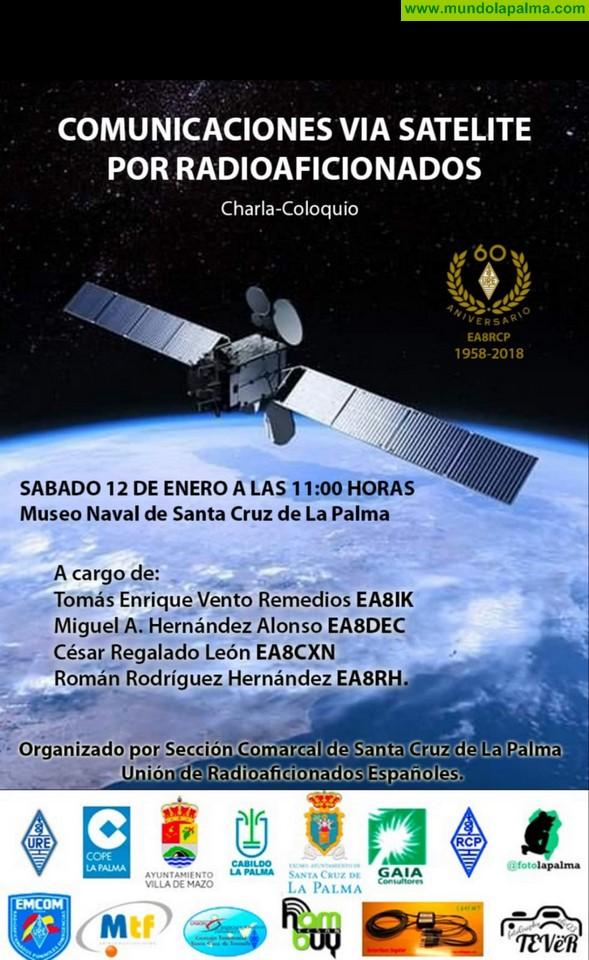 """Charla """"Comunicaciones vía satélite por radioaficionados"""""""