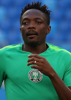 Super Eagles captain Ahmed Musa transfer record from GBS Football Academy to Al Nassr