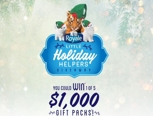 Royale Little Holiday Helpers Giveaway