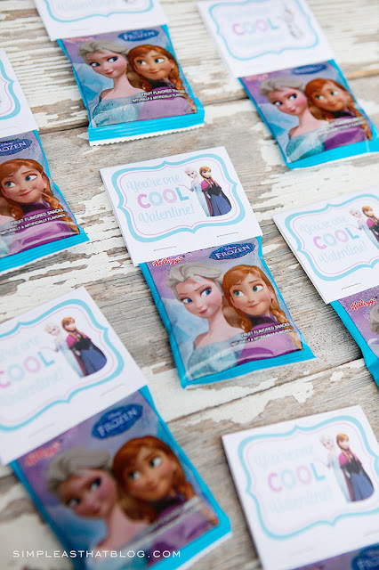 free Frozen printable valentine cards