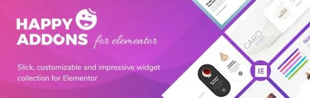 Happy Elementor Addon Pro Free Download