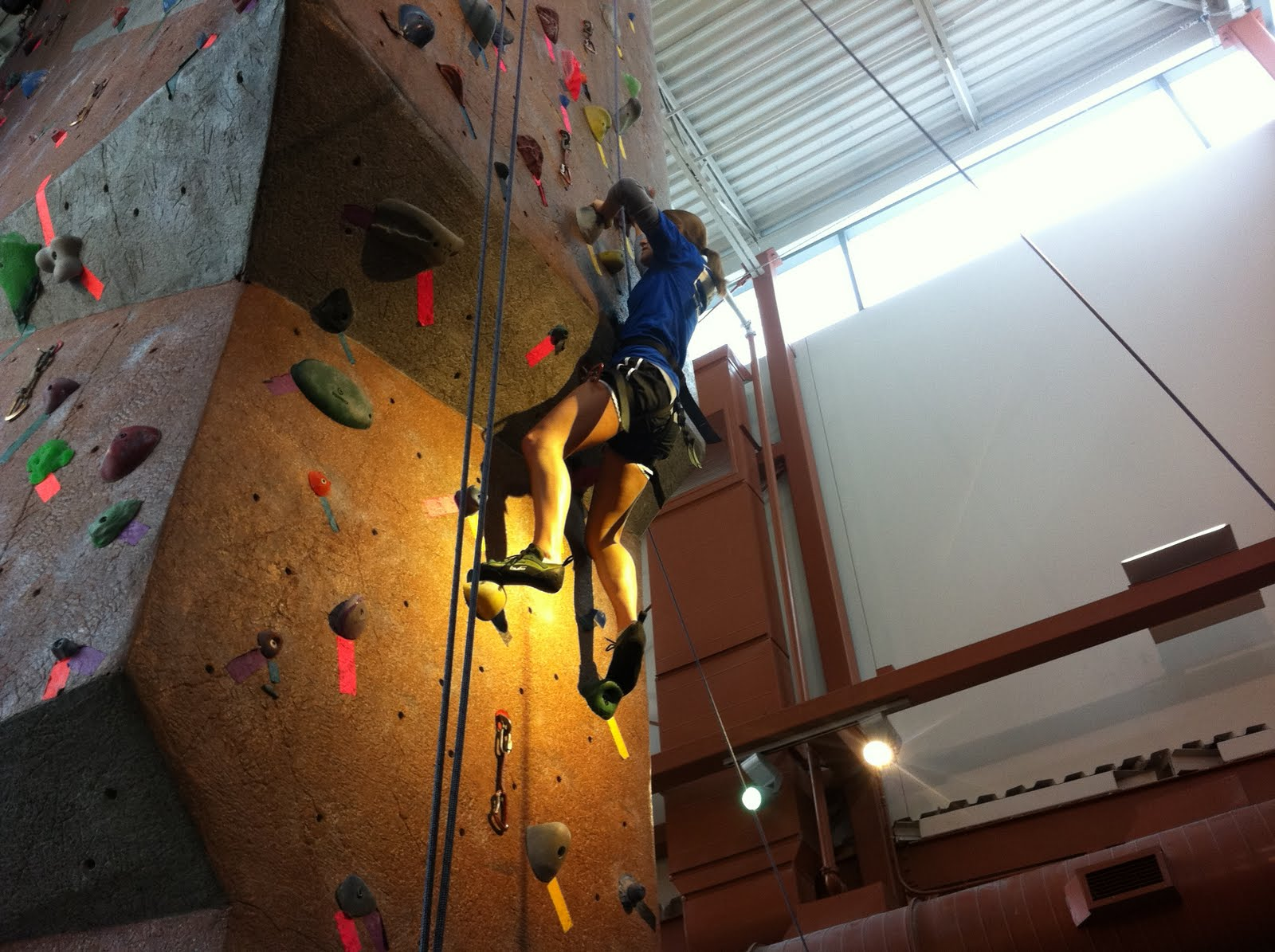 Staying Active Climbing at Rockquest best