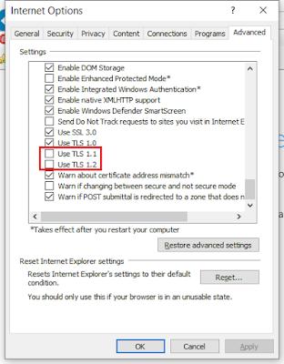 04 Enable TLS 1.1 and TLS 1.2 on Windows