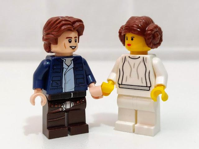 Han Solo e la Principessa Leia - Han Solo and Princess Leia