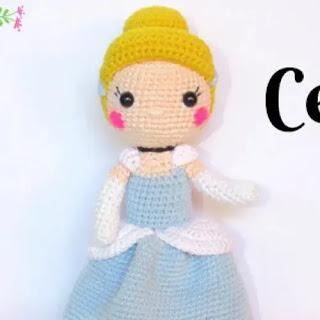 Amigurumi Cenicienta a Crochet