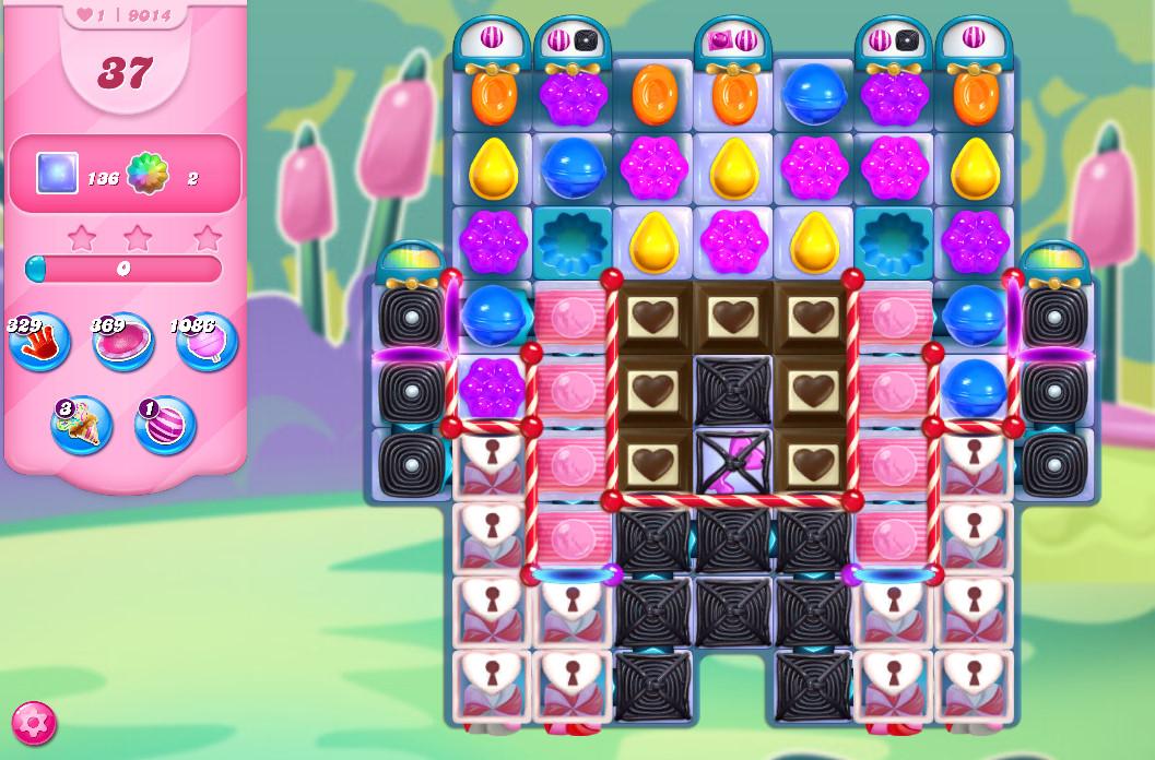 Candy Crush Saga level 9014