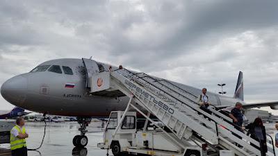 Aeropuerto Sheremetyevo en Moscu