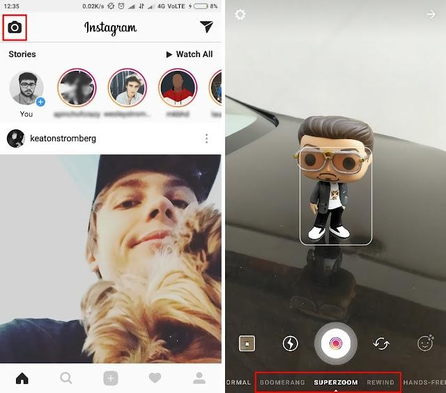 Belakangan ini begitu hangat dikalangan para pengguna instagram seputar fitur baru insta Apa itu Instagram Superzoom dan Bagaimana Tutorial Menggunakannya?