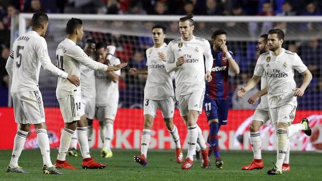Real Madrid Berada Di Puncak dan Jauhi Rival Di Klasemen La Liga