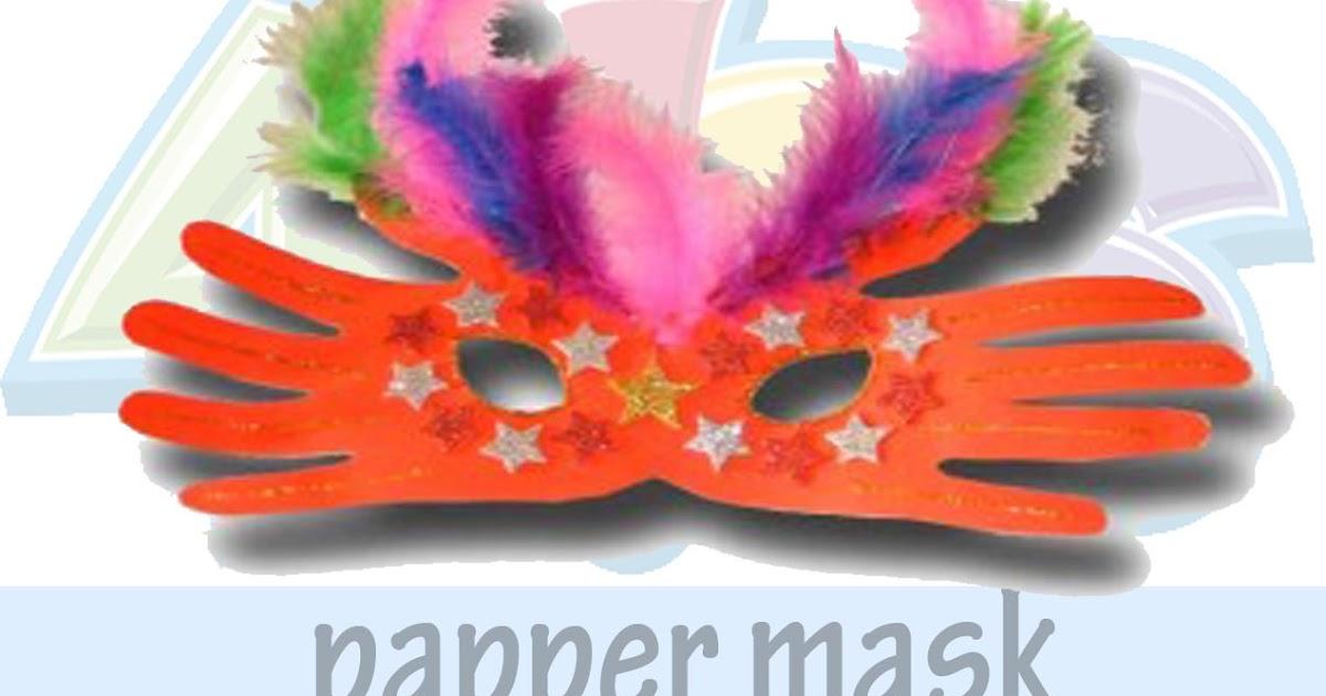 Halloween Crafts Mask Making