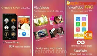 Best android video editor VivaVideo pro v4.5.8 free download