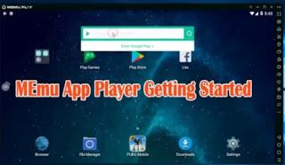 cara download apk iflix di komputer - memu play