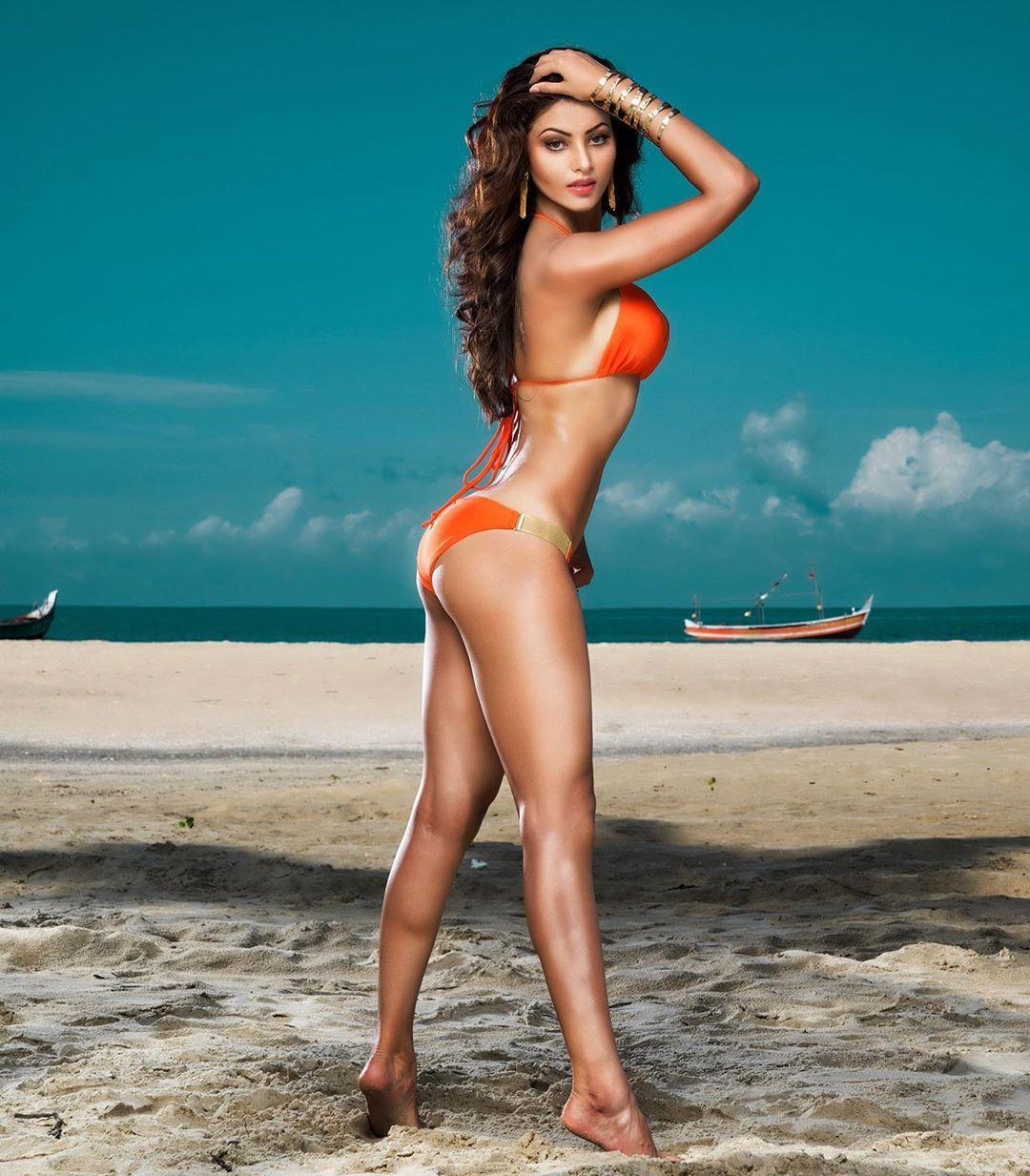 urvashi-rautela-poses-in-a-bikini-on-the-seaside-beach