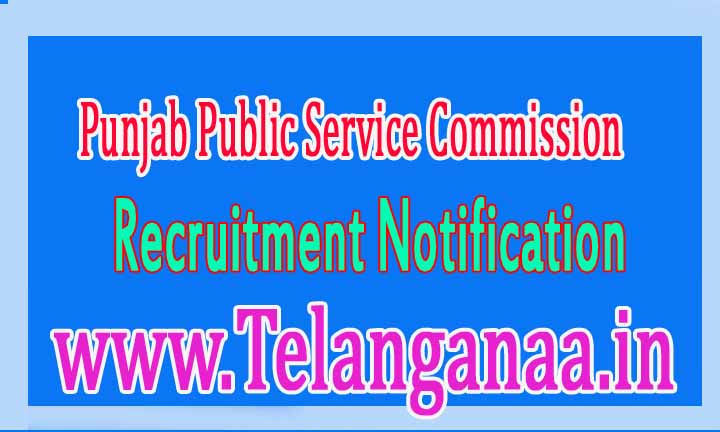 Punjab Public Service Commission (PPSC) Recruitment Notification 2017