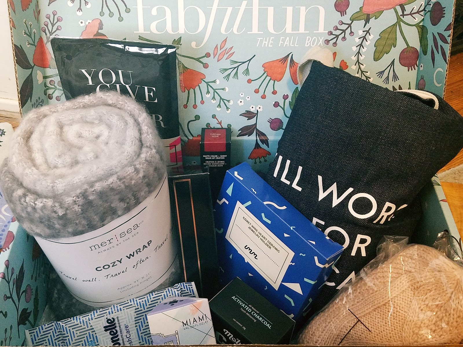 Fab Fit Fun Fall Subscription Box Review   September 2017