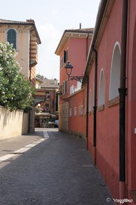 Vie del centro storico di Bardolino