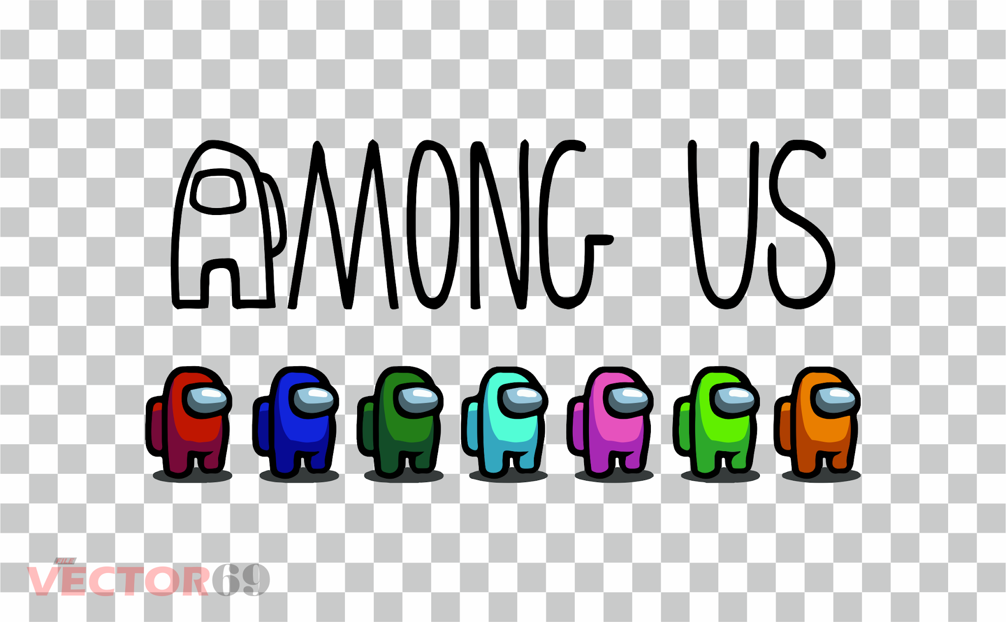 Among Us - Download Vector File PNG (Portable Network Graphics)