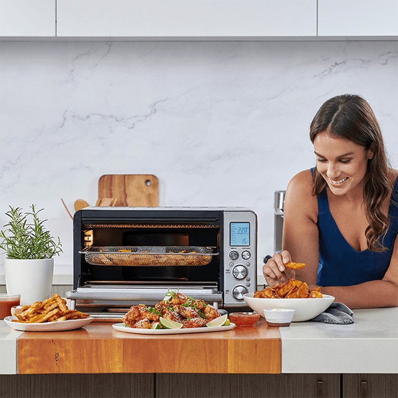 It covers 10 total cooking functions including AIr Fry and roasting