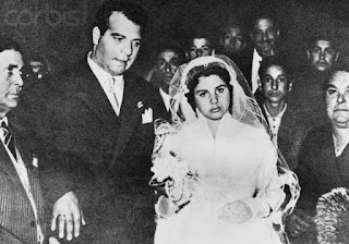 Maresca on the day of her wedding to Pasquale Simonetti, who would be dead within a matter of weeks