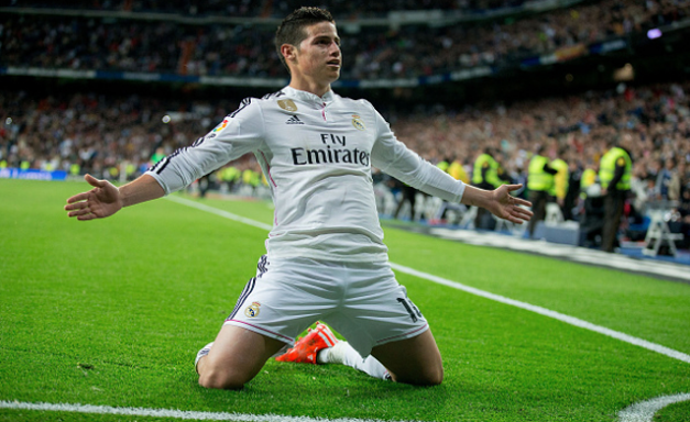 James Rodriguez tweet pesan ke fans Real Madrid